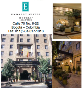 Embassy Suites Bogota Colombia Calle 70# 6-22