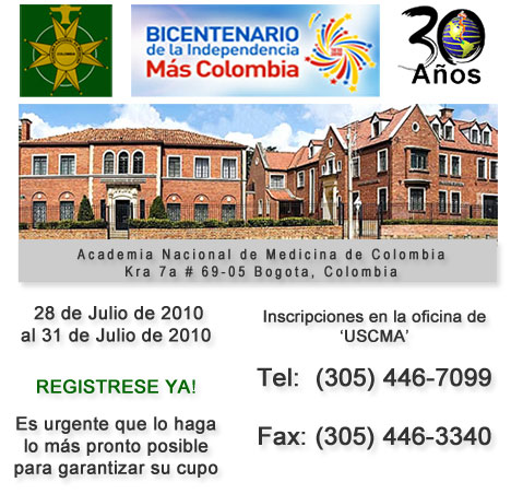 "XXX Congreso Médico ""Bicentenario de Colombia"""